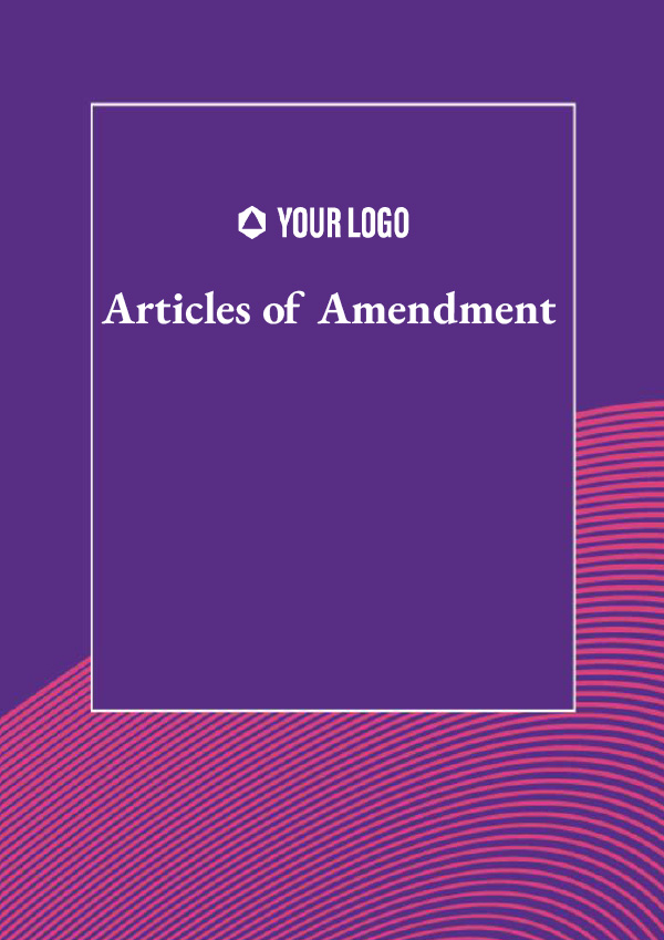 Articles of Amendment
