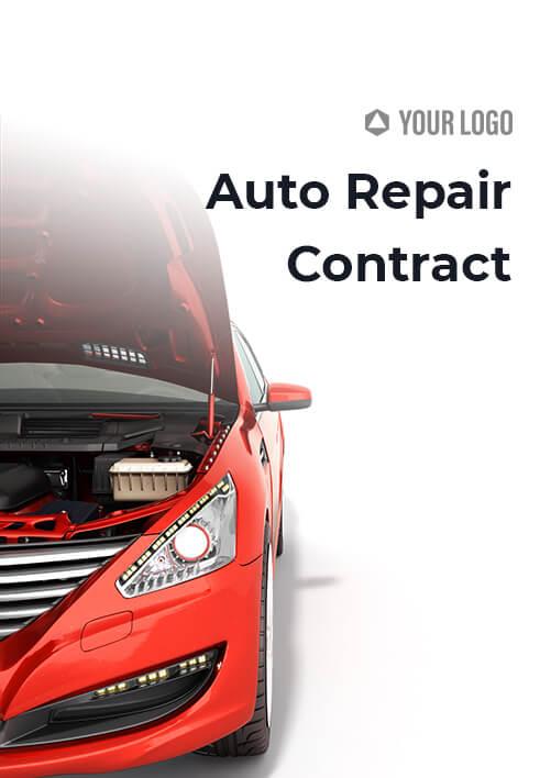 Auto Repair Contract