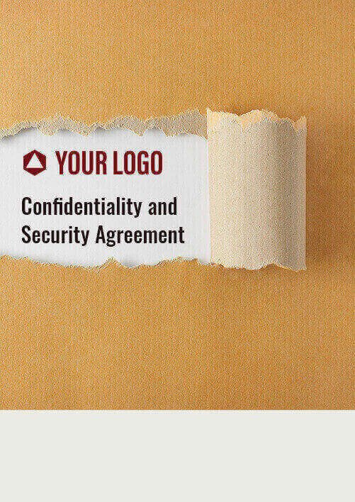 Confidentiality and Security Agreement