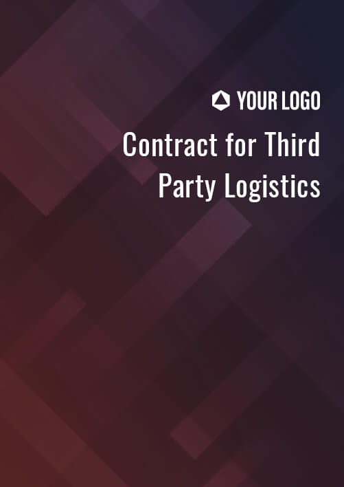 Contract for Third Party Logistics