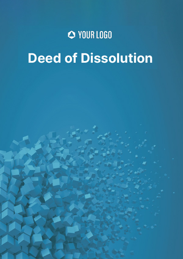 Deed of Dissolution