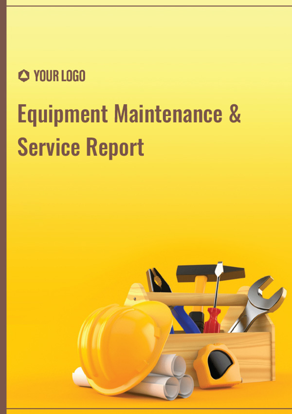 Equipment Maintainance & Service Report