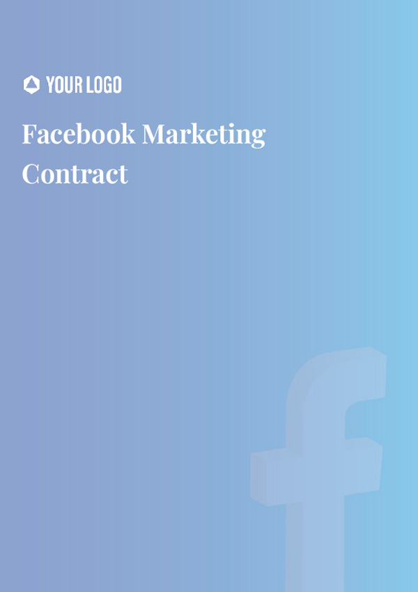 Facebook Marketing Contract