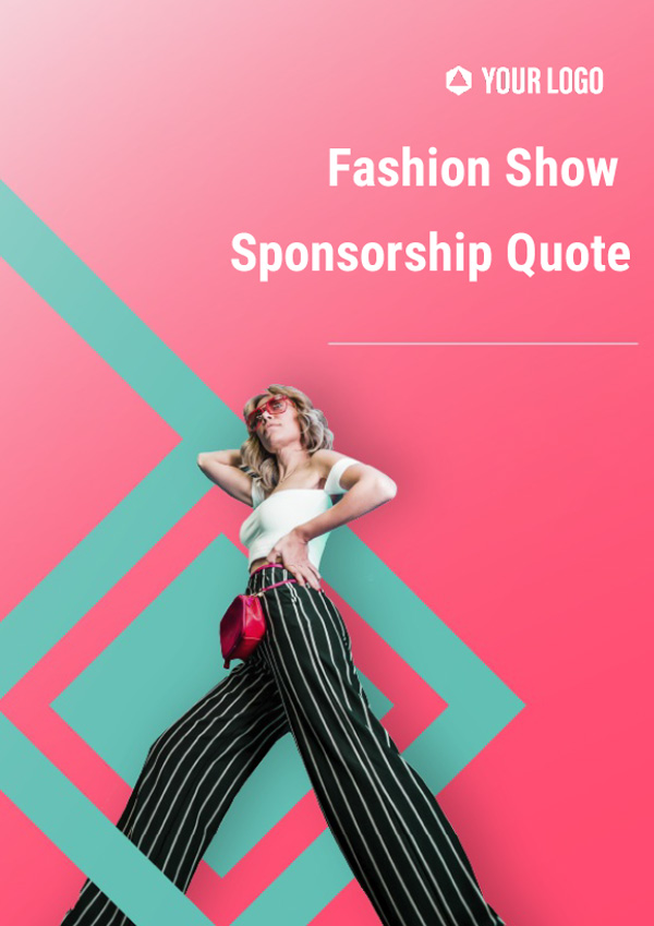 Fashion Show Sponsorship Quote