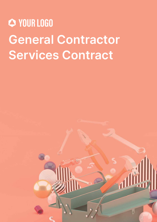 General Contractor Services Contract
