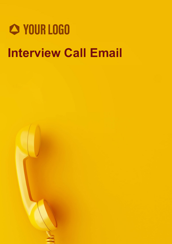 Interview Call Email