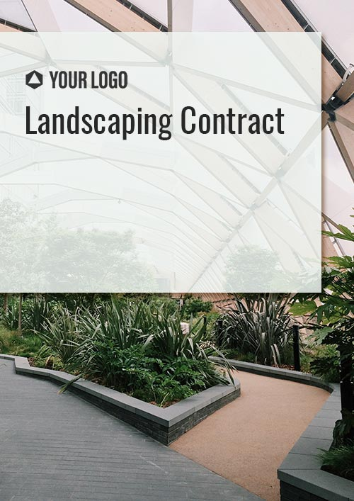 Landscaping Contract
