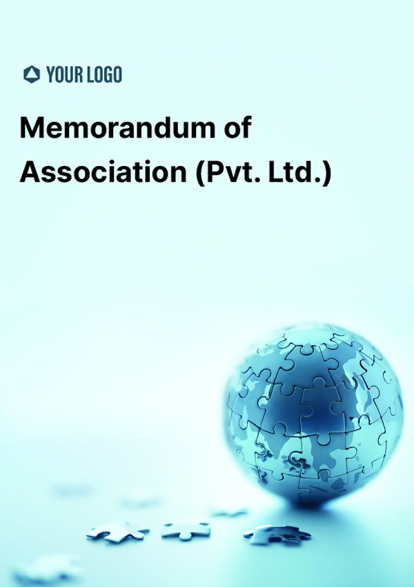 Memorandum of Association (Pvt Ltd)