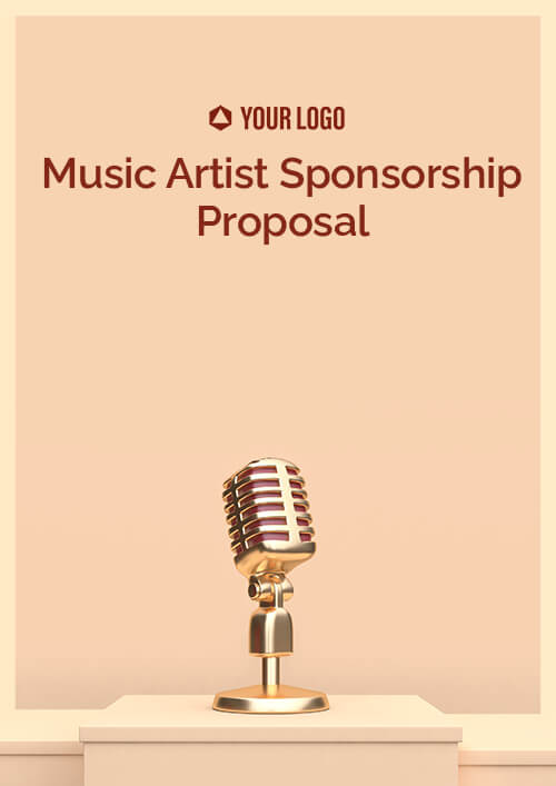 Music Artist Sponsorship Proposal