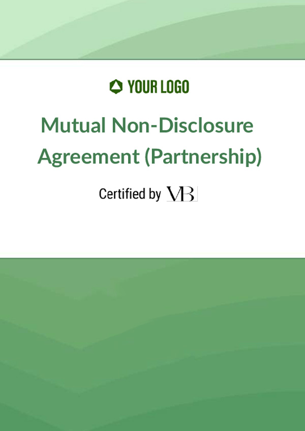 Mutual Non-Disclosure Agreement (Partnership)
