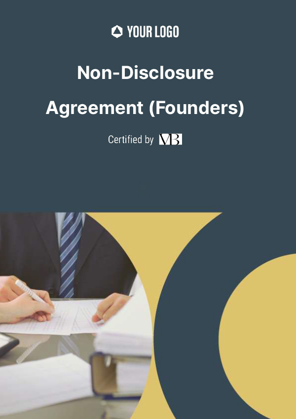 Non Disclosure Agreement (Founders)