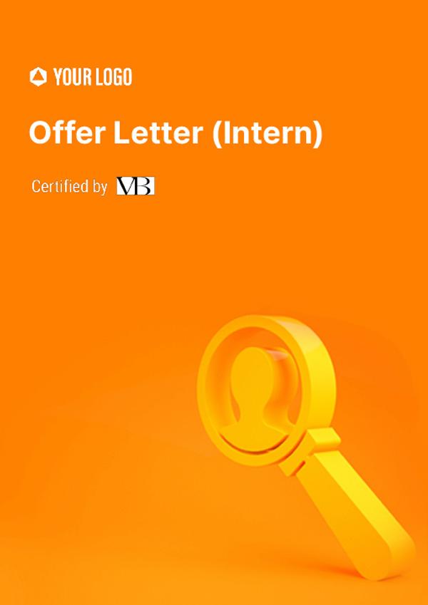 Offer Letter (Intern)