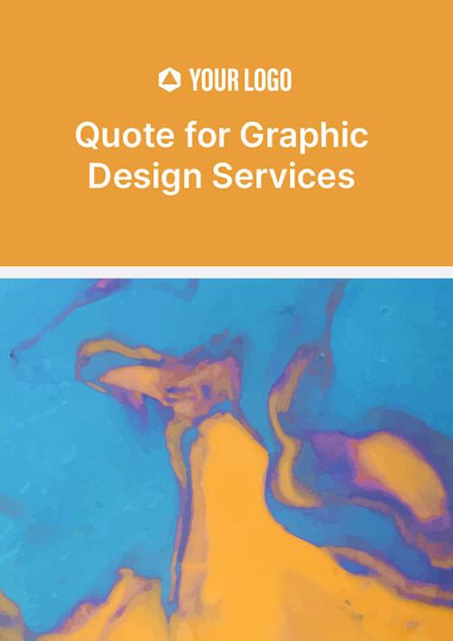 Quote For Graphic Design Services