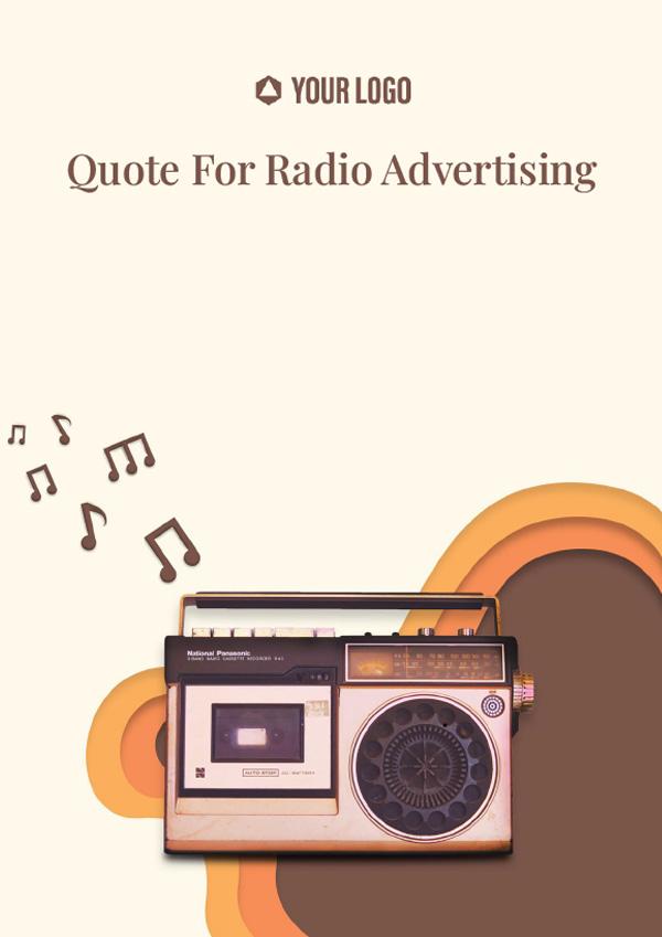 Quote for Radio Advertising
