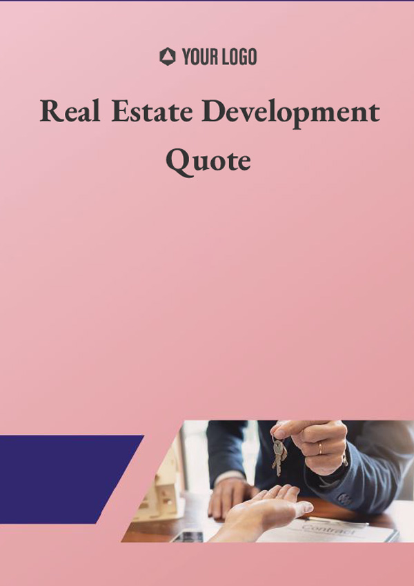 Real Estate Development Quote