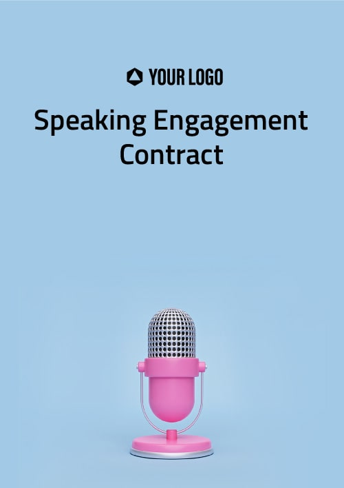 Speaking Engagement Contract