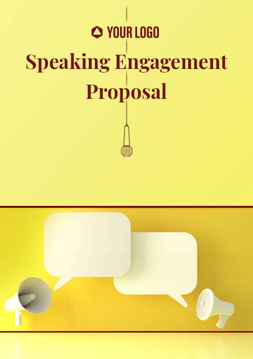 Speaking Engagement Proposal