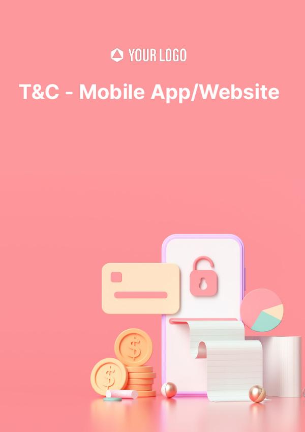 T&C (Mobile App/ Website)