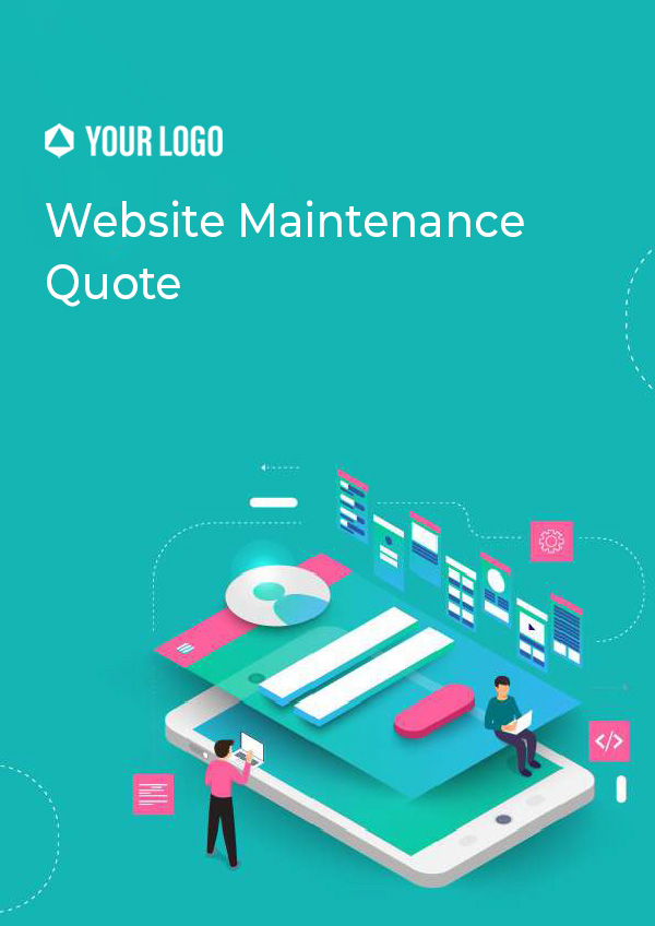 Website Maintenace Quote
