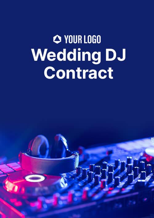 Wedding DJ Contract