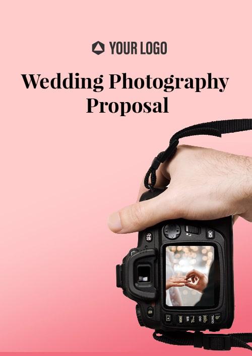 Wedding Photography Proposal
