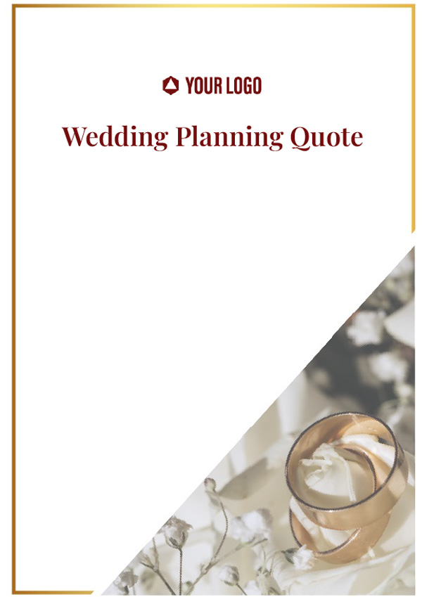 Wedding Planning Quote