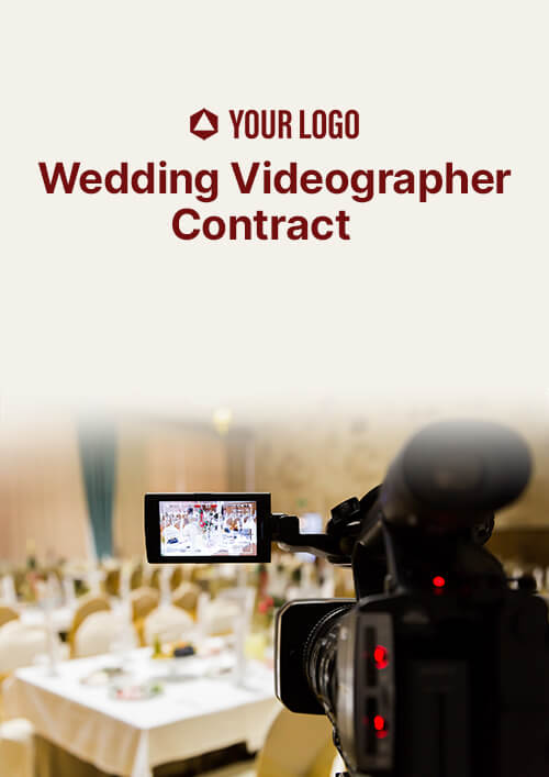 Wedding Videographer Contract