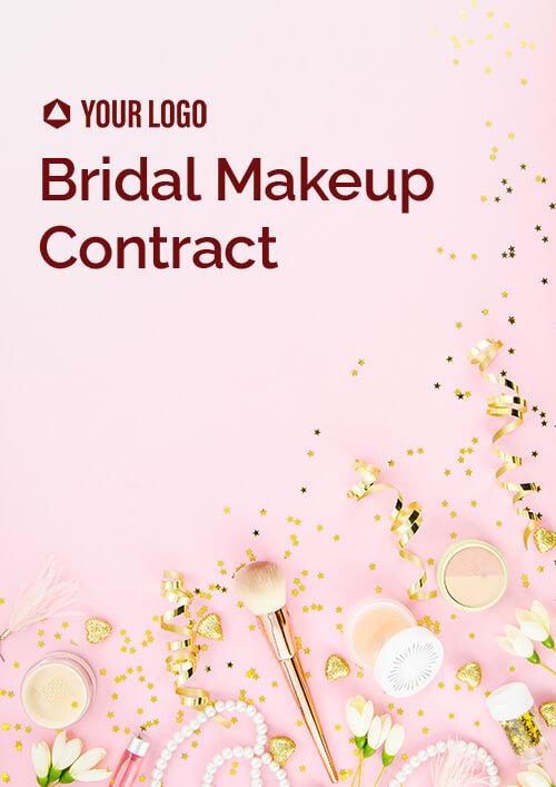Bridal Makeup Contract